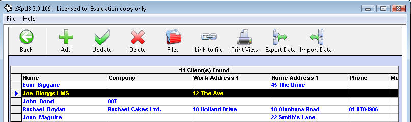 how to delete a contact from the address book